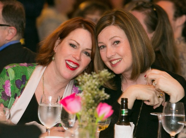 Molly Ringwald and Victoria Leacock Hoffman
