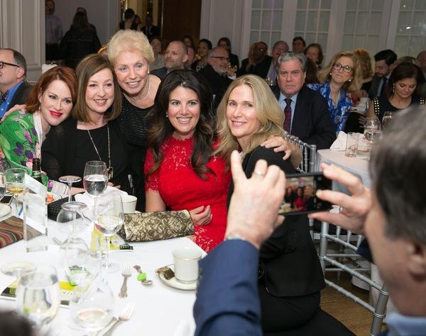 Molly Ringwald, Victoria Leacock Hoffman, Carol Gertz, Monica Lewinsky and Fiona Rudin