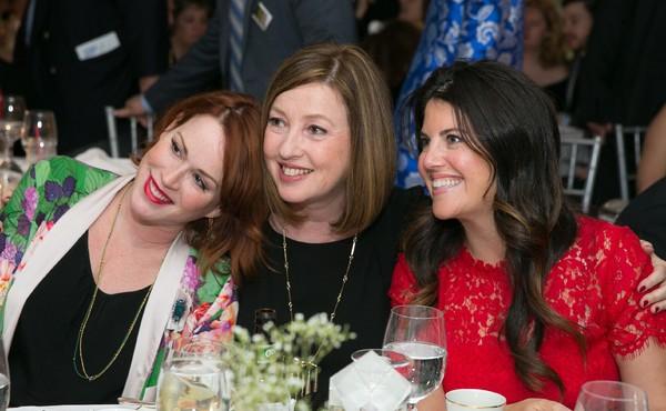 Molly Ringwald, Victoria Leacock Hoffman, Monica Lewinsky