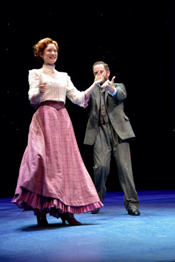 Jill Paice and Adam Monley