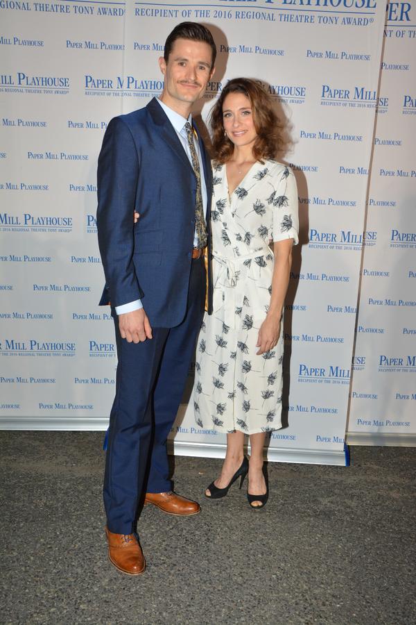Mark Evans and Elena Shaddow