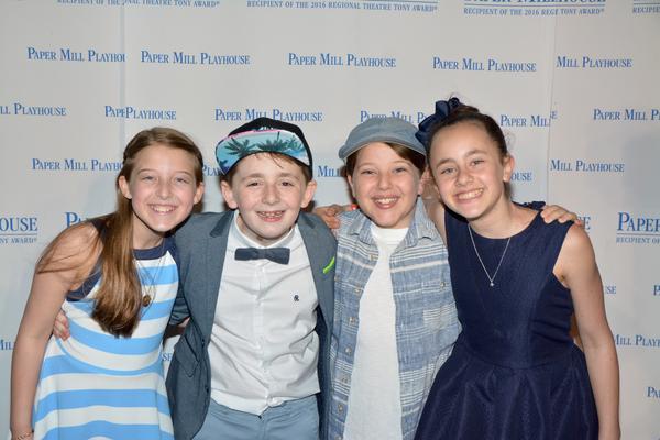 Madi Shaer, John Michael Pitera, Maddox Padgett and Abbie Grace Levi Photo