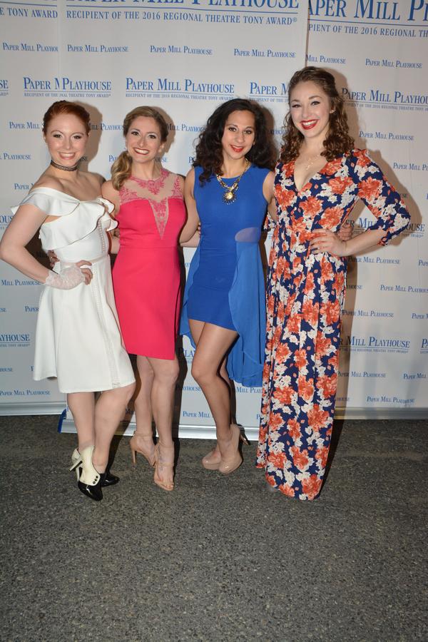 Caylie Rose Newcom, Adena Ershow, Natasha Natraj and Mary Beth Donahoe