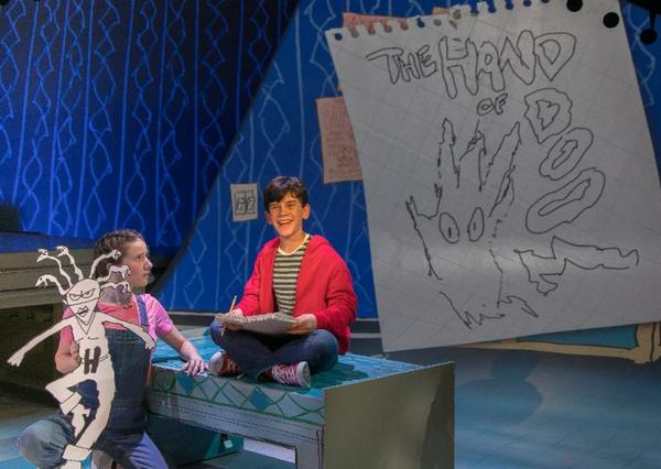 Photos: First Look at Jonah Broscow and Andrew Lippa in THE MAN IN THE CEILING at Bay Street Theater