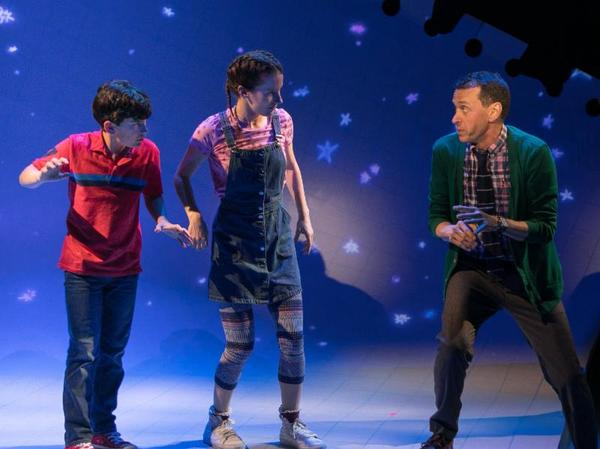 Photo Flash: First Look at Jonah Broscow and Andrew Lippa in THE MAN IN THE CEILING at Bay Street Theater
