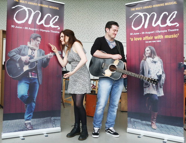 Niamh Perry and Brian Gilligan