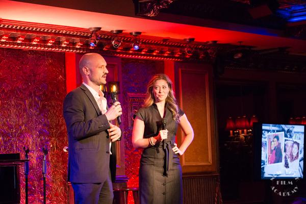 Seth Reich and Jessica Myhr