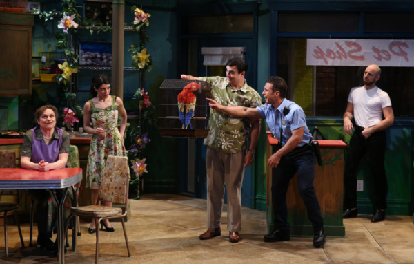 Photo Flash: First Look at Theater Breaking Through Barriers' THE ARTIFICIAL JUNGLE at Theatre Row