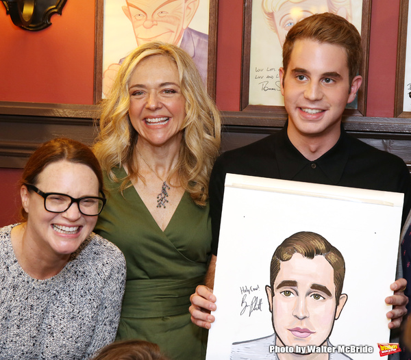 Jennifer Laura Thompson, Rachel Bay Jones and Ben Platt