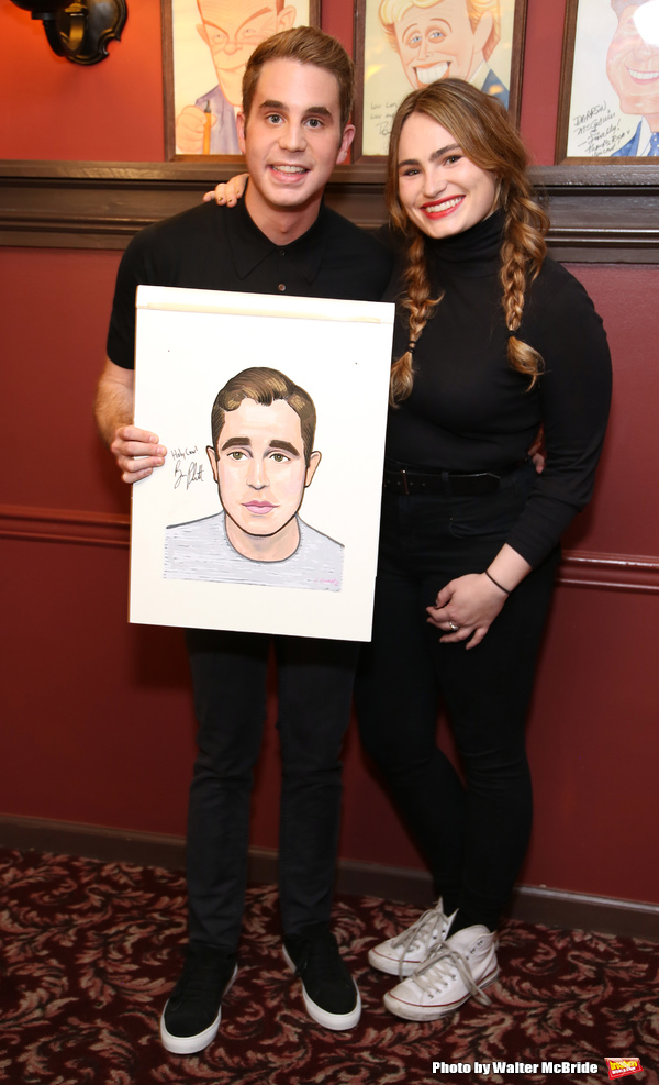 Ben Platt and Kathryn Gallagher