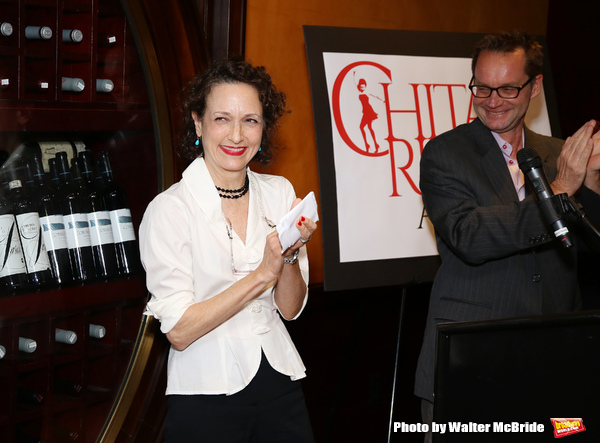 Bebe Neuwirth and Michael Reidel