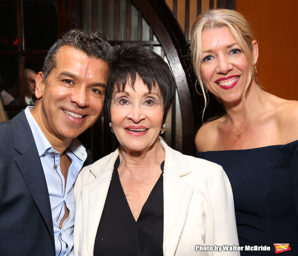 Sergio Trujillo, Chita Rivera and Kelly Devine