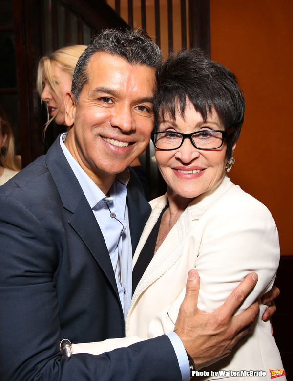 Sergio Trujillo and Chita Rivera