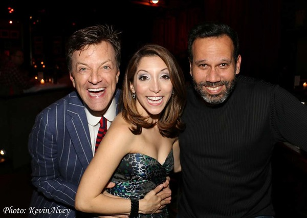 Jim Caruso, Christina Bianco and Rene Ruiz
