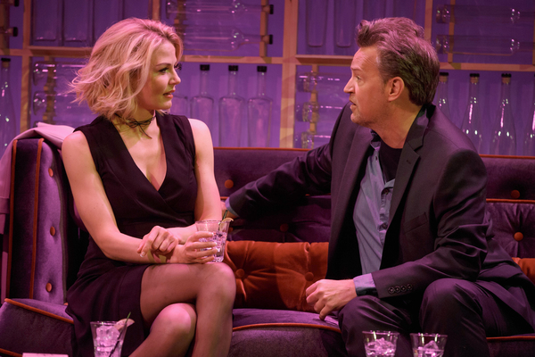 Photo Flash: First Look at Matthew Perry and Jennifer Morrison in THE END OF LONGING