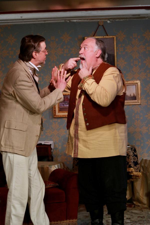 Len Rella and James Michael Armstrong