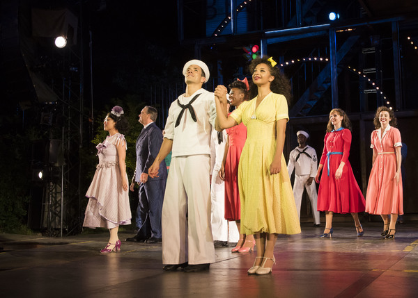Photo Flash: ON THE TOWN Celebrates Opening Night at Regent's Park Open Air Theatre