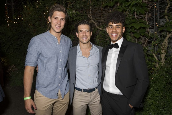 Samuel Edwards, Danny Mac and Jacob Maynard Photo