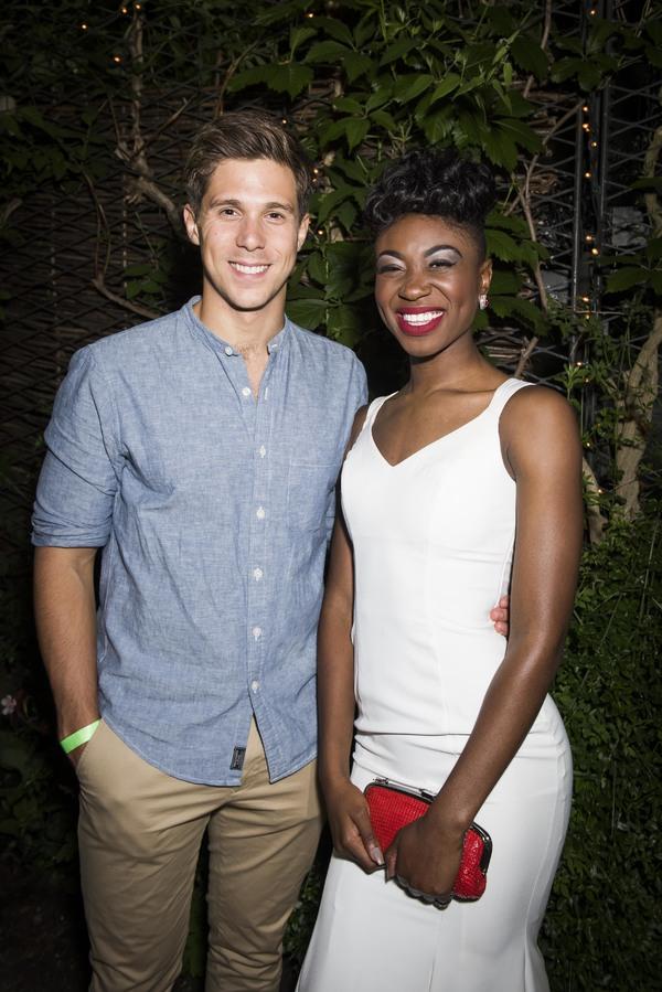 Samuel Edwards and Miriam-Teak Lee