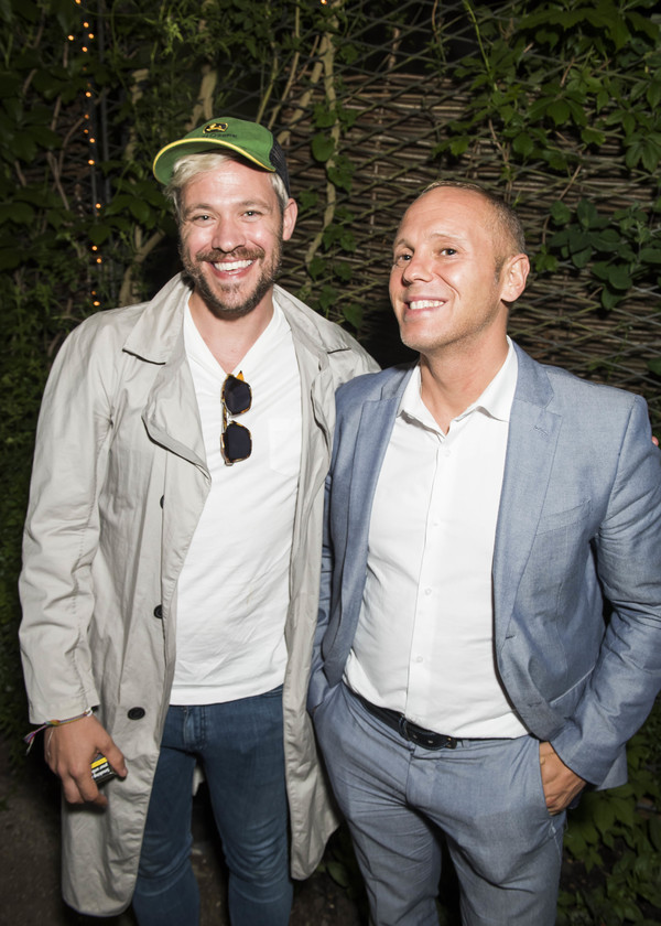Will Young and Robert Rinder