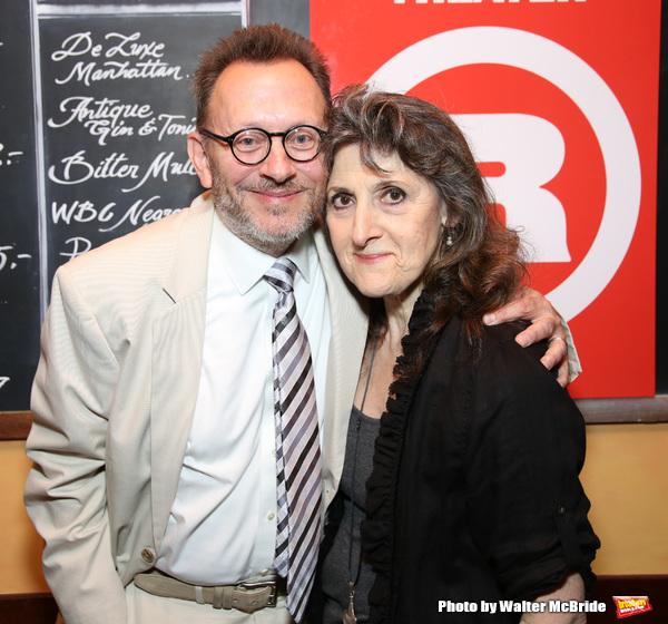 Michael Emerson and Mary Lou Rosato
