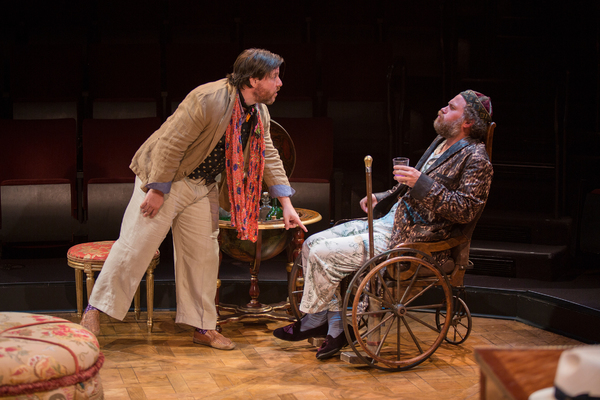 Photo Flash: First Look at Fiasco's THE IMAGINARY INVALID at The Old Globe