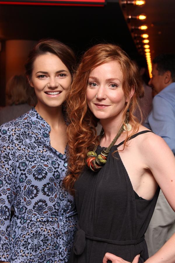 Kara Tointon and Phoebe Thomas