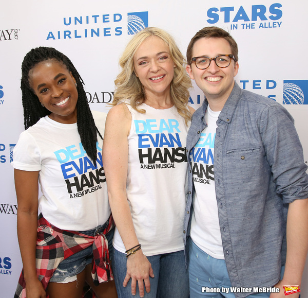 Kristolyn Lloyd, Rachel Bay Jones and Will Roland