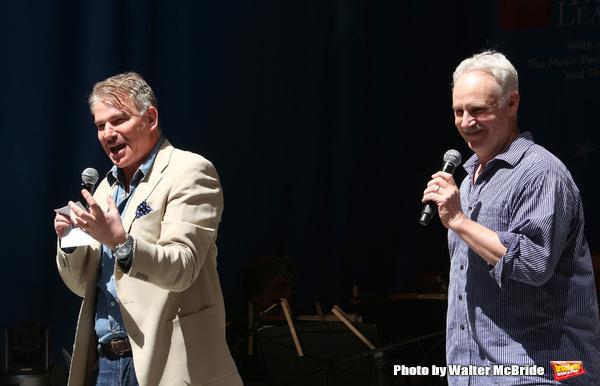 Douglas Sills and John Dossett