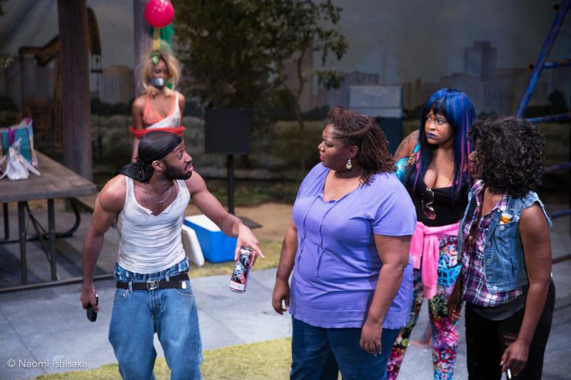 BWW Review: Intiman's BARBECUE Sizzles with Familial and Racial Tension