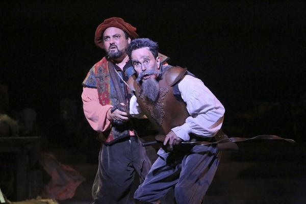 Roland Rusinek and Davis Gaines