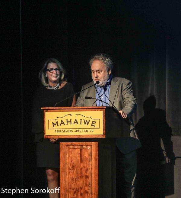 Kelley Vickery & David Edelstein Photo