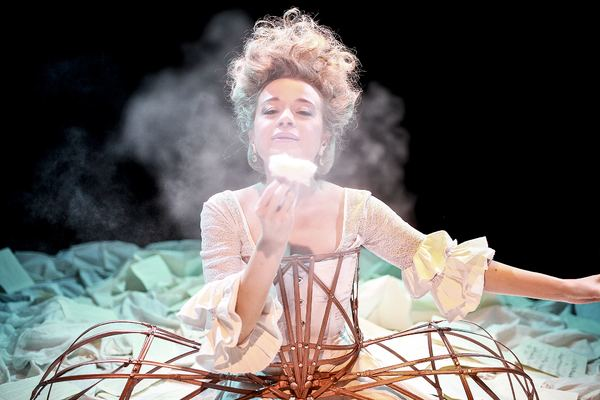 """Sylvia Milo has written and stars in """"THE OTHER MOZART"""" - Directed by Isaac Byrne and now playing at the RUBICON THEATRE in Ventura."""