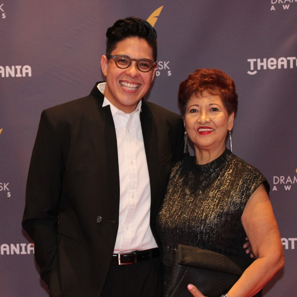 George Salazar and his Mom