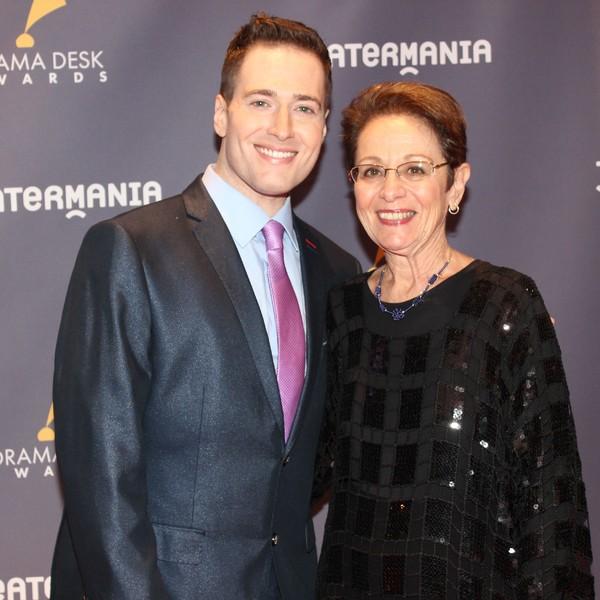 Randy Rainbow and his Mom