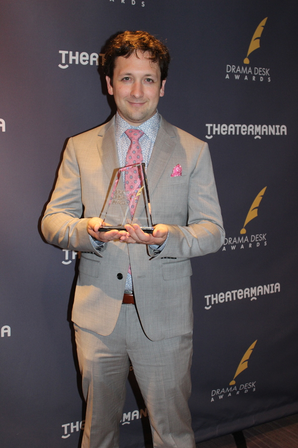 Photo Coverage: Backstage with the Winners of the 62nd Annual Drama Desk Awards!