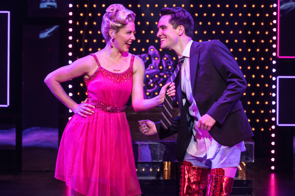 Taylor Louderman and Brendon Urie