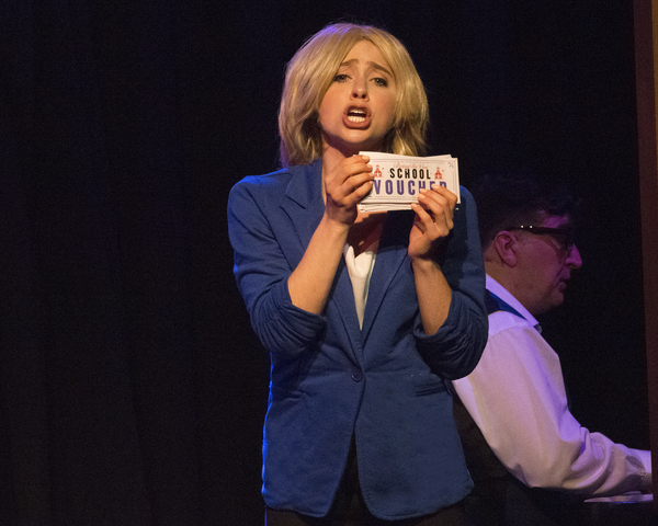 Photo Flash: First Look at ME THE PEOPLE: THE TRUMP AMERICA MUSICAL at The Triad