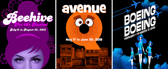 AVENUE Q, BEEHIVE, BOEING, BOEING and More Set for Metropolis Performing Arts Centre's 2017-18 Season
