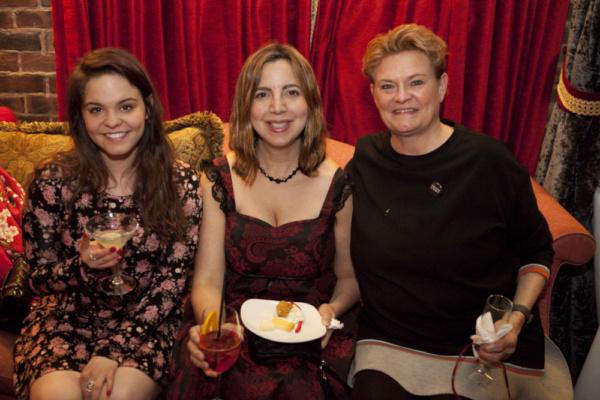 Cara Jane Feuer, Tanya Khordoc, and Lil Arbogast Photo