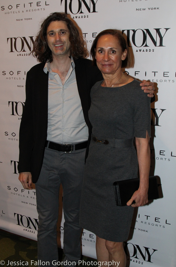 Lucas Hnath and Laurie Metcalf