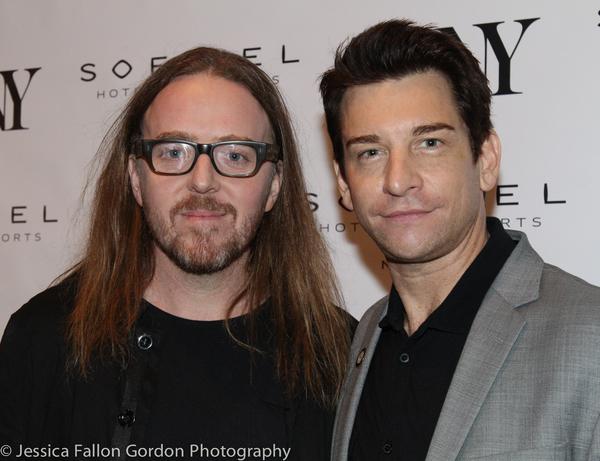 Tim Minchin and Andy Karl Photo