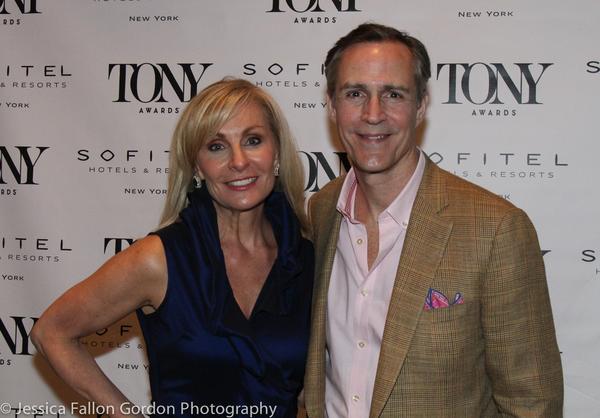 Judy McLane and Howard McGillin