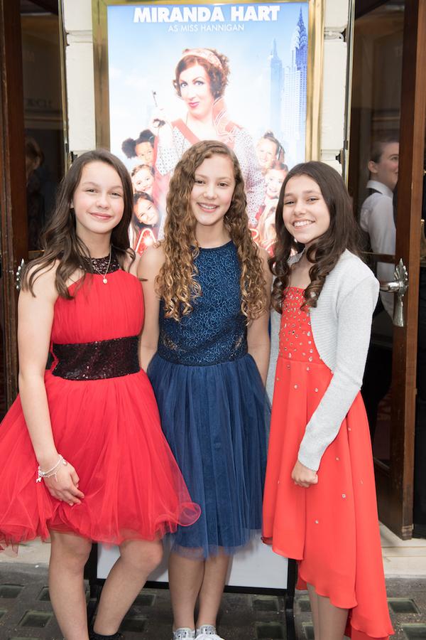 Madeleine Haynes, Lola Moxom and Ruby Stokes  Photo