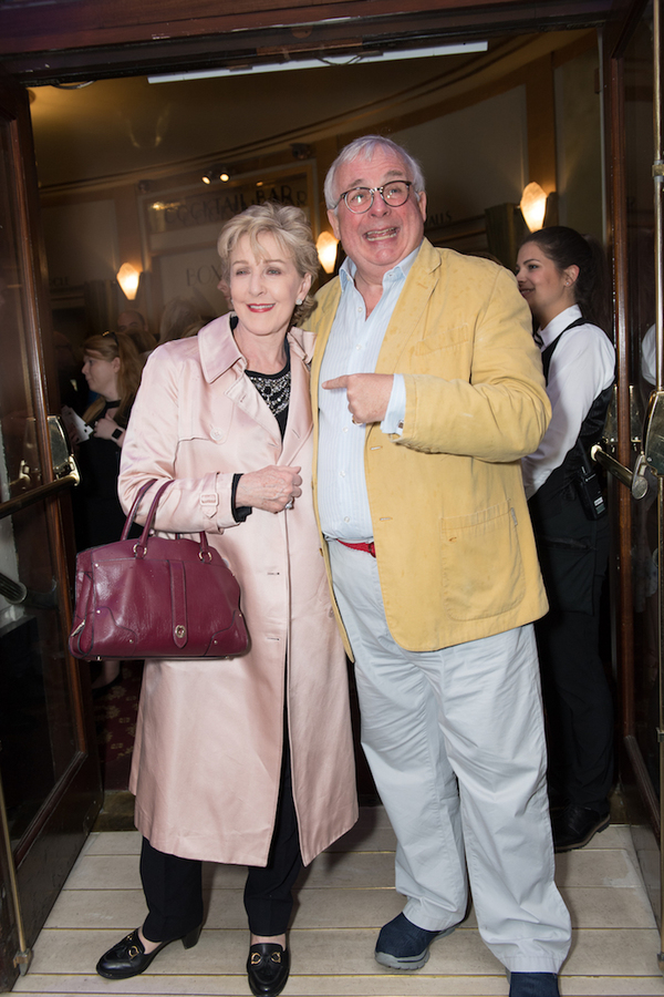 Patricia Hodge and Christopher Biggins