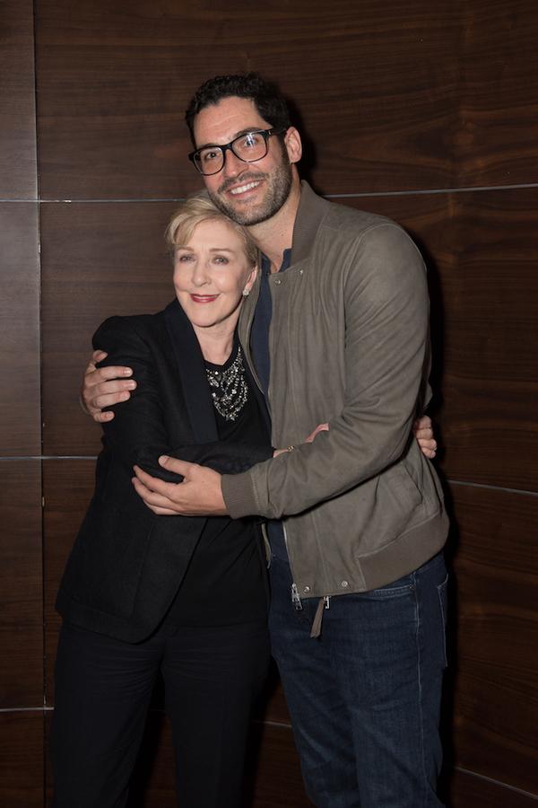Patricia Hodge and Tom Ellis Photo