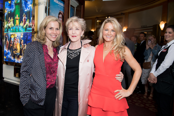 Sally Phillips, Patricia Hodge and Sarah Hadland