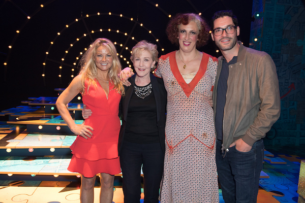 Sarah Hadland, Patricia Hodge, Miranda Hart and Tom Ellis Photo