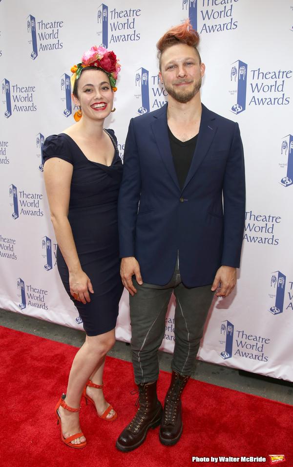 Benjamin Scheuer and wife