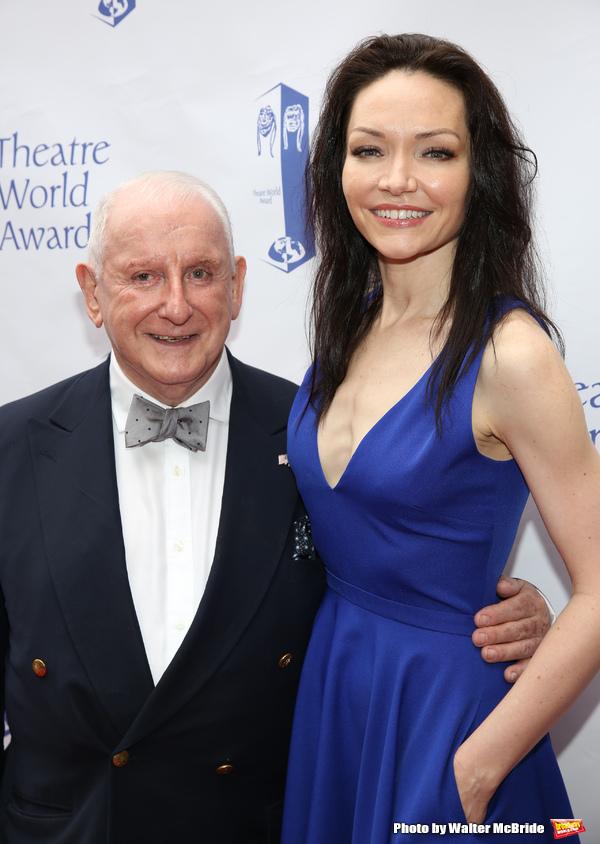 Lionel Larner and Katrina Lenk